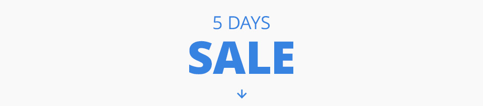 5 Days Only Sale