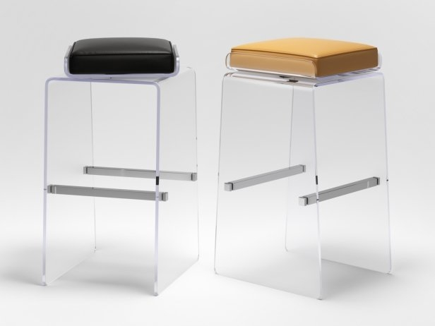 Waterfall Barstool by Cain Modern