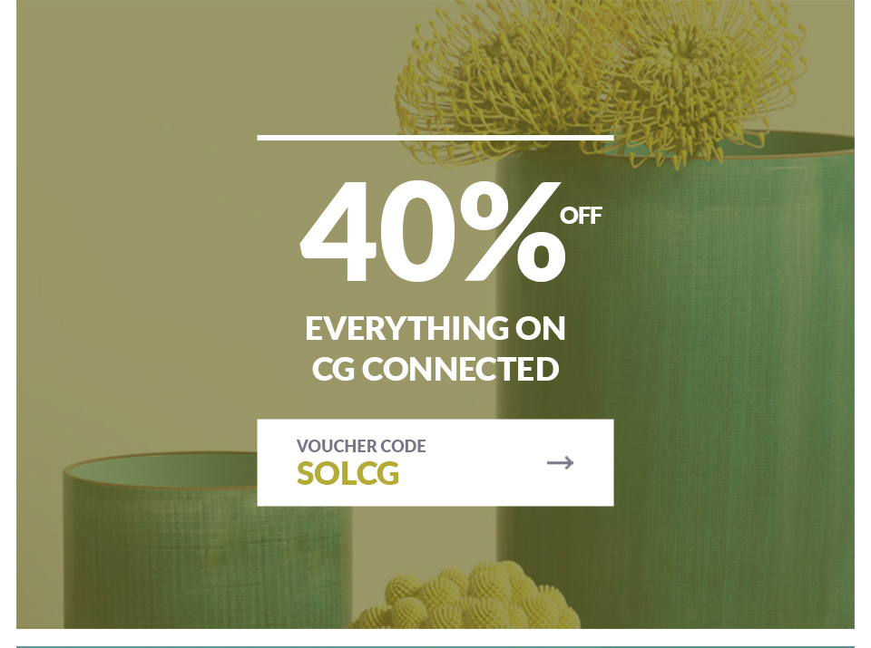 40% Off Everything On CG Connected
