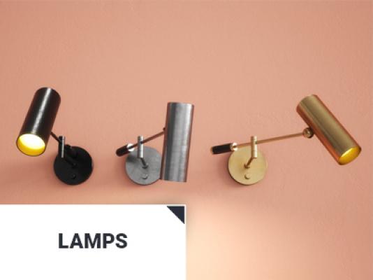 Industrial Lamps 3d models