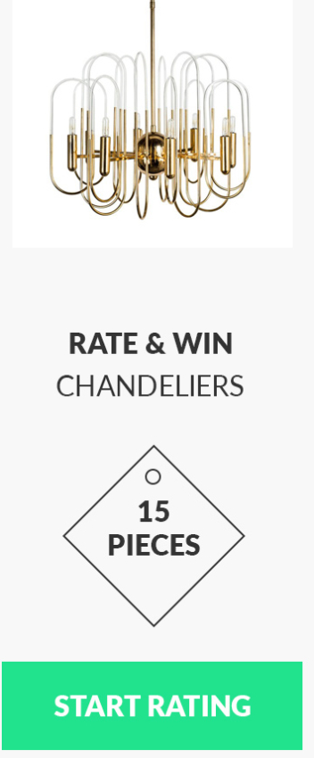 Rate & Win: Chandeliers edition