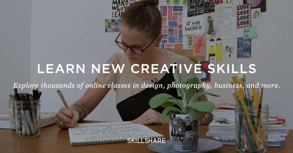 Learn New Creative Skills With Skillshare, Explore Thousands of Online Classes: Get a 2-Month FREE Membership! 1