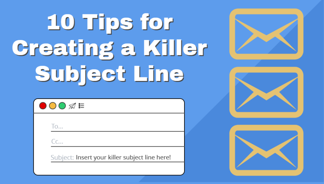email subject line graphic