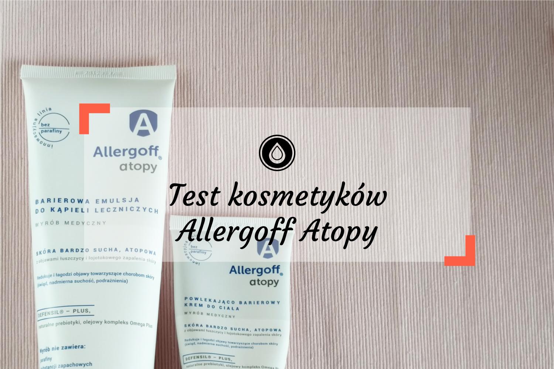 Test kosmetyków Allergoff Atopy