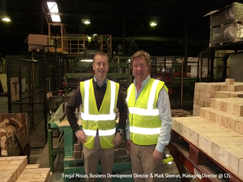 Fergal Moran, Business Development Director & Mark Sheeran, Managing Director CJS
