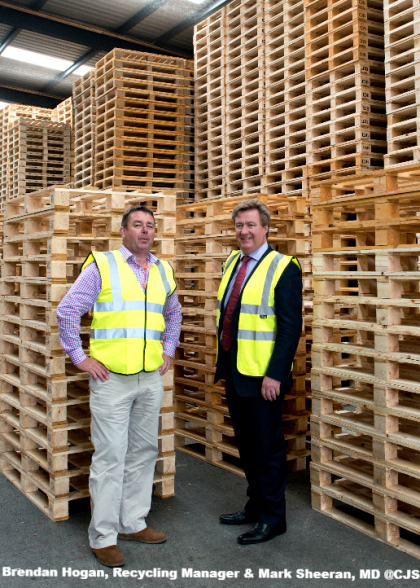 Brendan Hogan, Recycling Manager & Mark Sheeran, MD @CJS