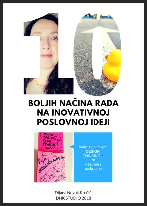PDF knižica - 10 BOLJIH NAČINA RADA NA INOVATIVNOJ POSLOVNOJ IDEJI