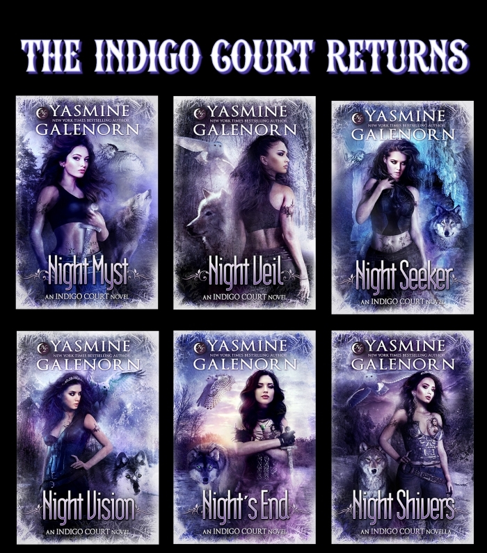 New Covers of the Indigo Court Books