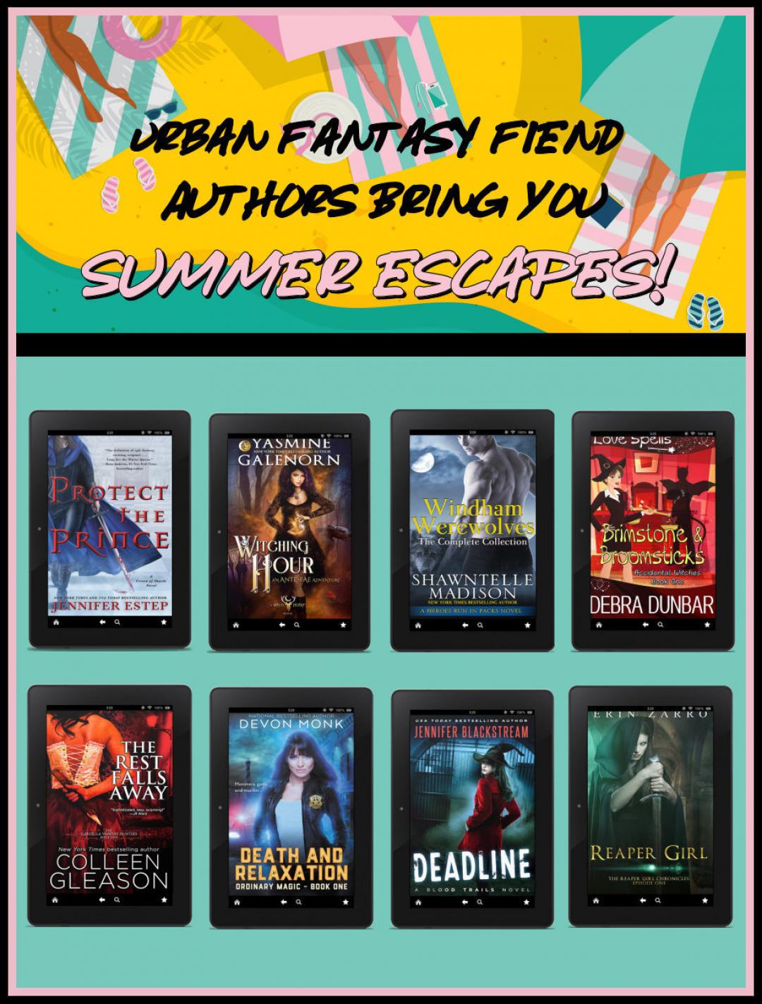 Urban Fantasy Fiend Authors Bring You Summer Escapes!