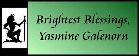 Bright Blessings! Yasmine Galenorn