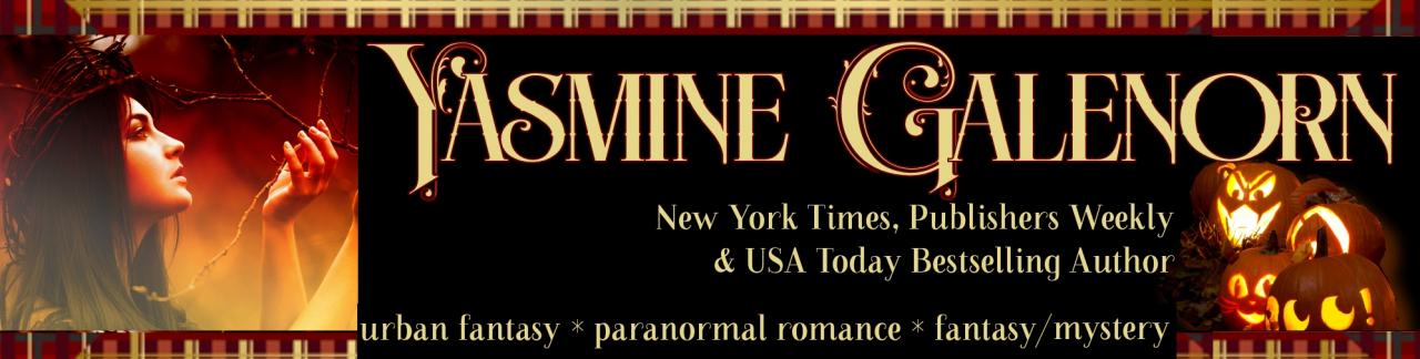 Yasmine Galenorn--New York Times Bestselling Author