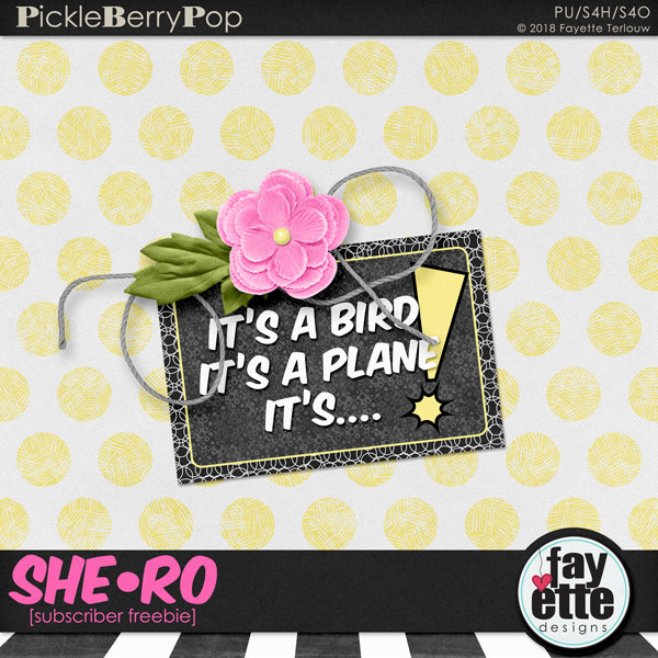 Are You A SHE-RO? New Collection for iNSD!