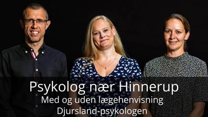 Djursland-psykologen nær Hinnerup - Frank, Stine og Malene