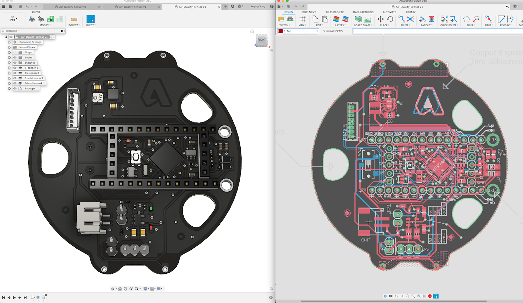 Designing Printed Circuit Boards is now available directly in Fusion 360