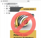 Fusion 360 books are not recommended for learning the software