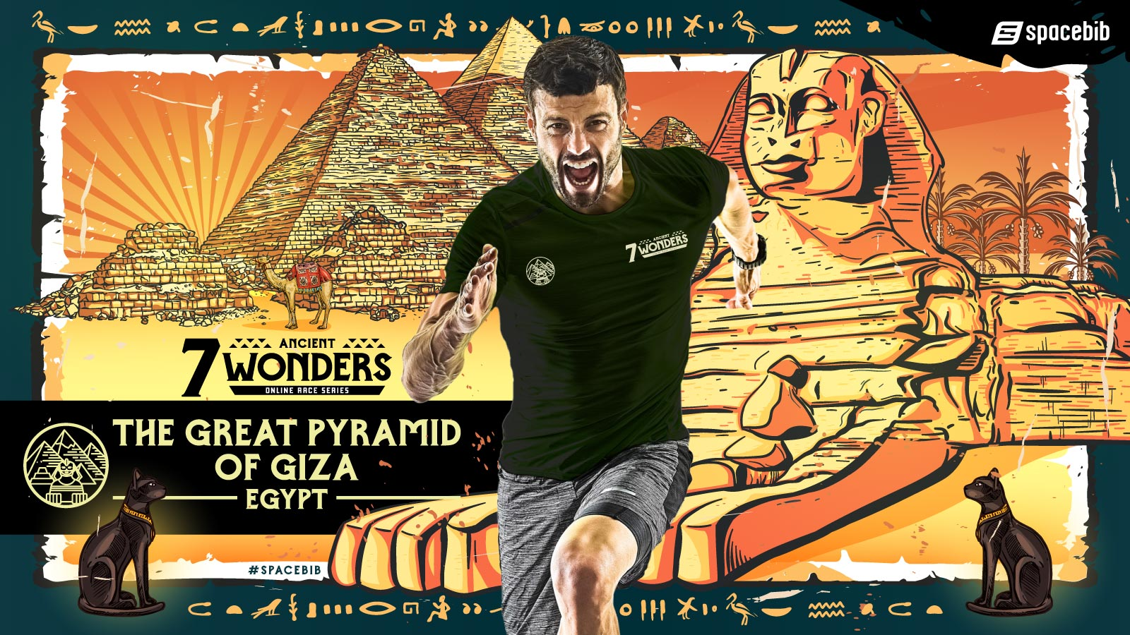 7 Ancient Wonders Online Race Series: The Great Pyramid