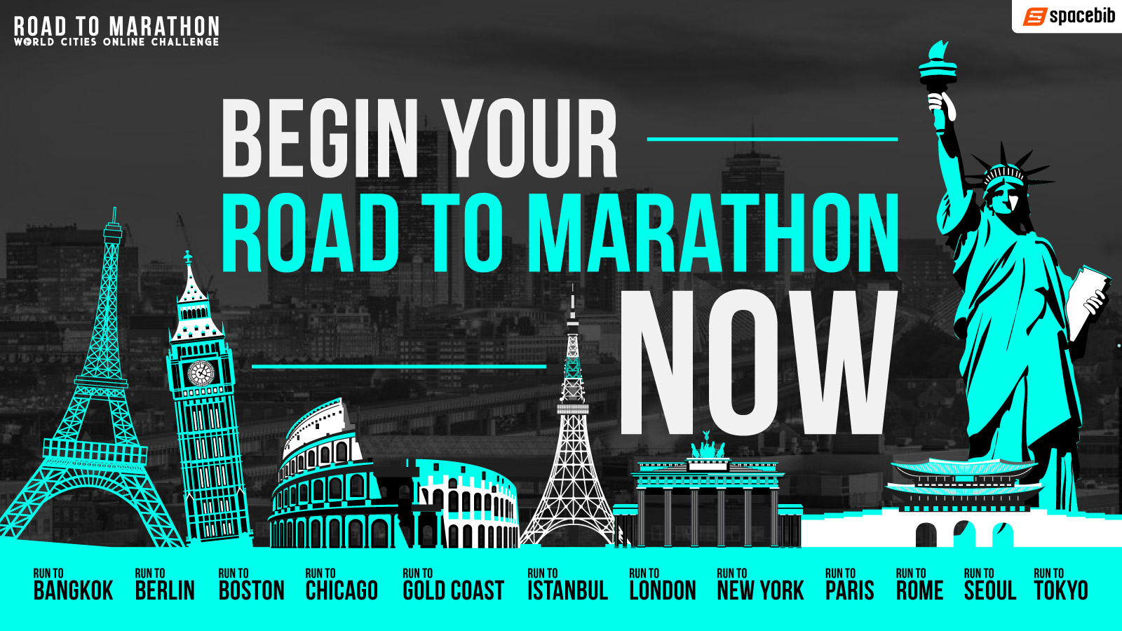World Cities Online Challenge: Road To Marathon 2020