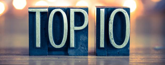 Top 10 berichten over inspiratie van 2018