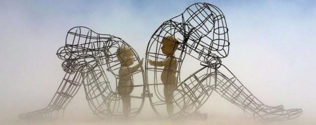 De liefde en de relatie met je verleden - Burning Man