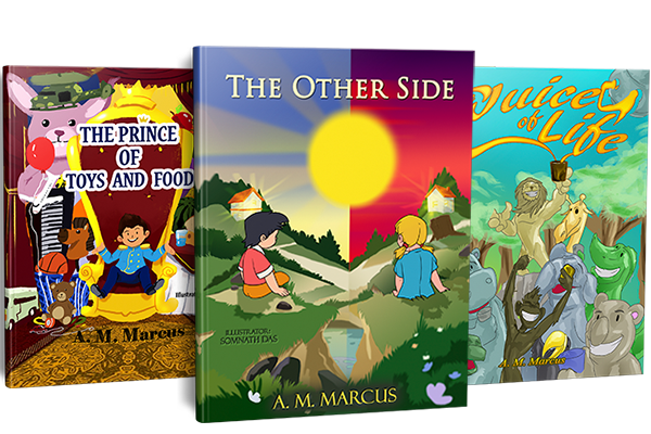 Gratitude Children's Books By A. M. Marcus