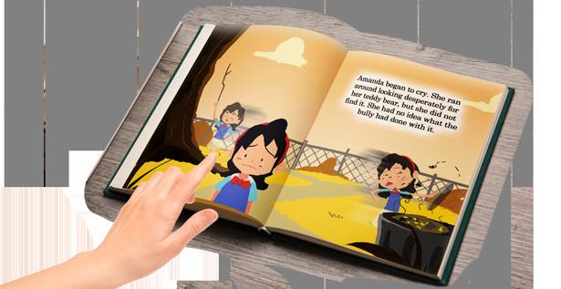 Children's Book: Granny's Guitar Open Book