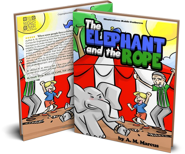 Children's Book: The Elephant and the Rope