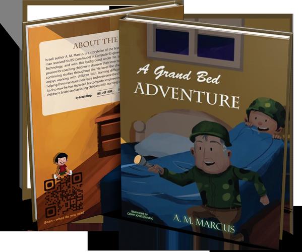 Children's Book: A Grand Bed Adventure