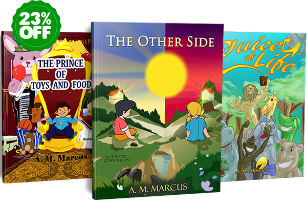 16 Children Books by A. M. Marcus