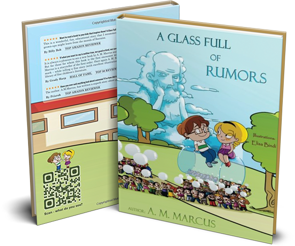 Children's Book: A Glass Full of Rumors