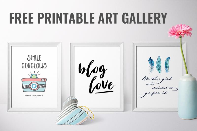 Free Printable Art Gallery