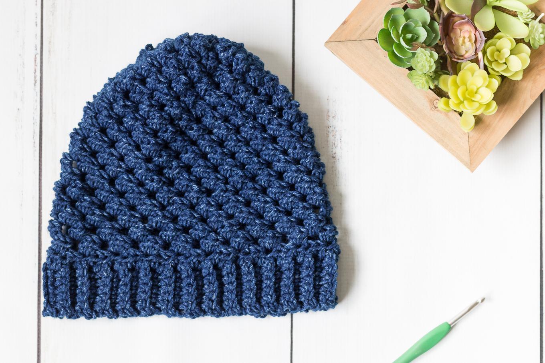 Leigh Hatnothate Hat Crochet Pattern Free Crochet Beanie
