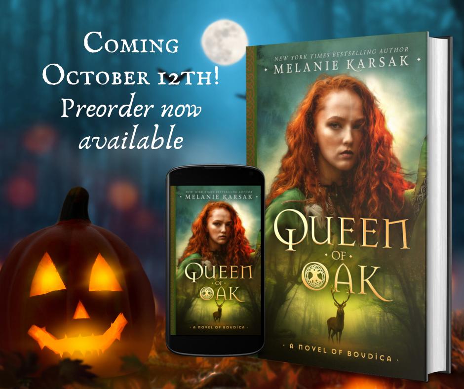 Queen of Oak: A Novel of Boudica Sneak Peek!