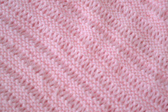 Free Baby Blanket Knitting Pattern The Dropstitch Blanket Peace