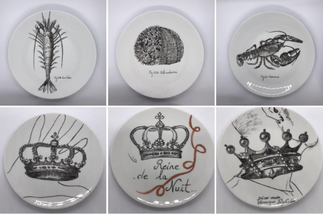Catalogue porcelaine - Véronique Joly-Corbin - La minute déco