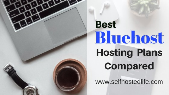 bluehost plans compared (shared hosting plans)
