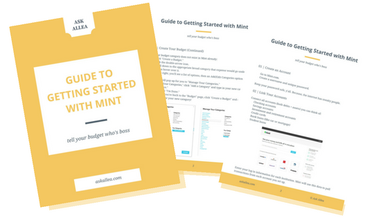 How To Use Mint To Manage Your Budget Better — Ask Allea