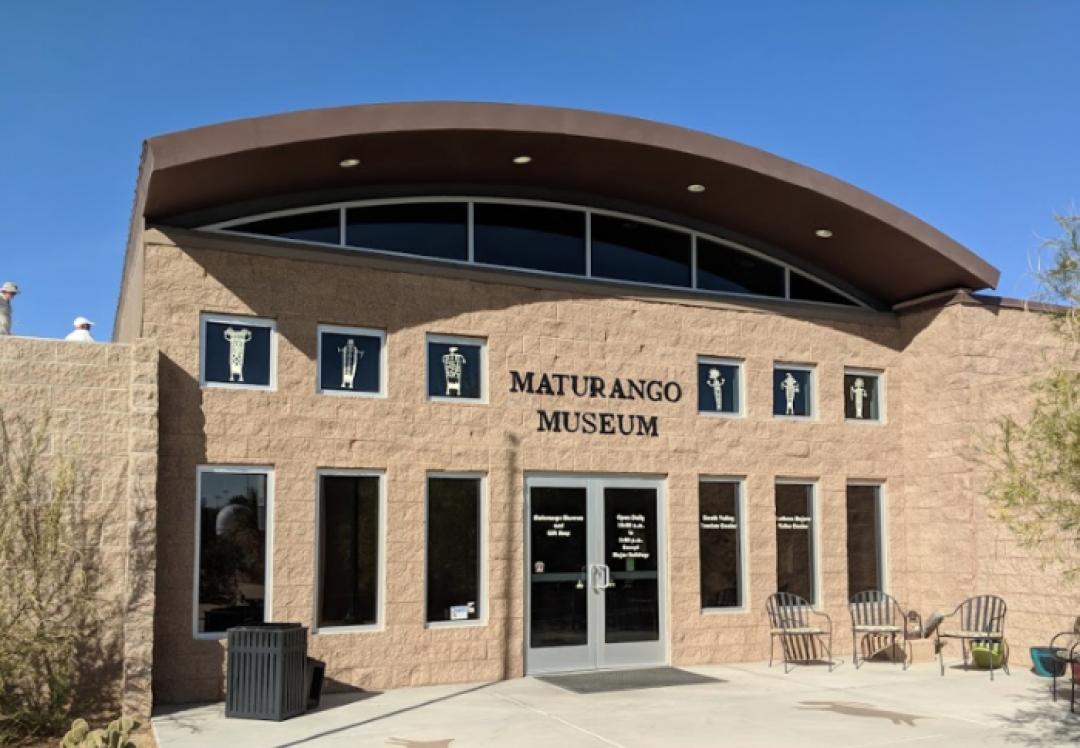 NORMA ALONZO, SOLOEXHIBITION  MATURANGOMUSEUM  RIDGECREST, CALIFORNIA