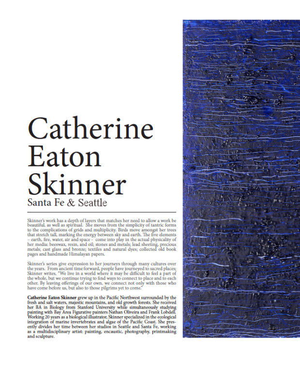 Catherine Eaton Skinner, Article in Art Reveal Magazine, Issue #42 https://issuu.com/artrevealmagazine/docs/42