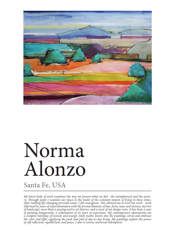 Art Reveal Magazine: In this issue No. 42 Featured Artist Norma Alonzo