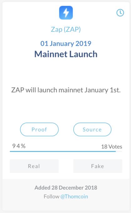 Zap (ZAP)