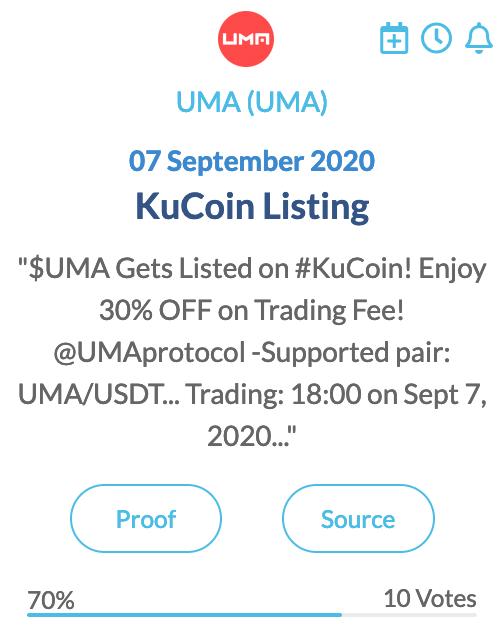 UMA (UMA)