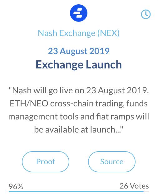 Nash Exchange (NEX)