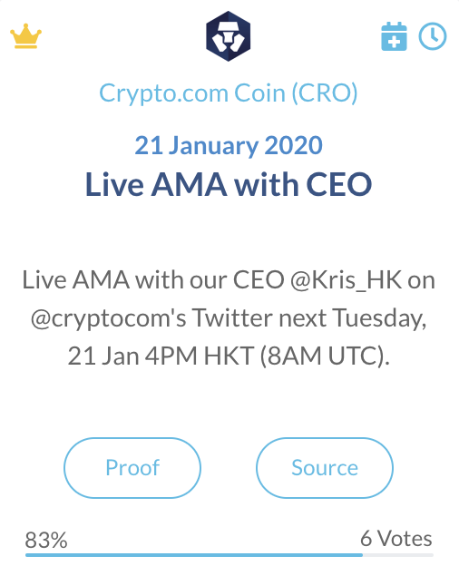 Crypto.com Coin (CRO)