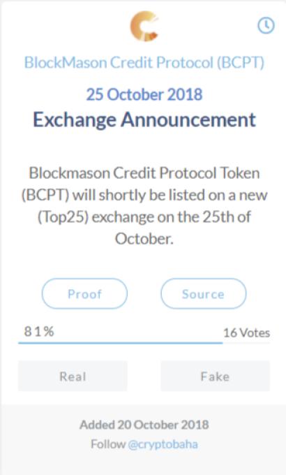 Blockmason Credit Protocol (BCPT)