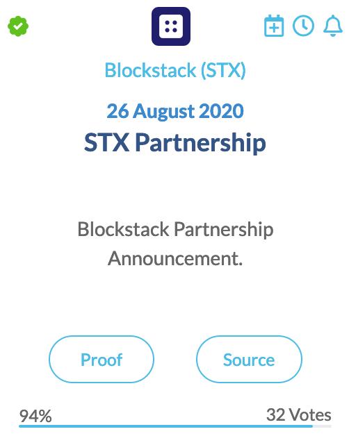 Blockstack (STX)