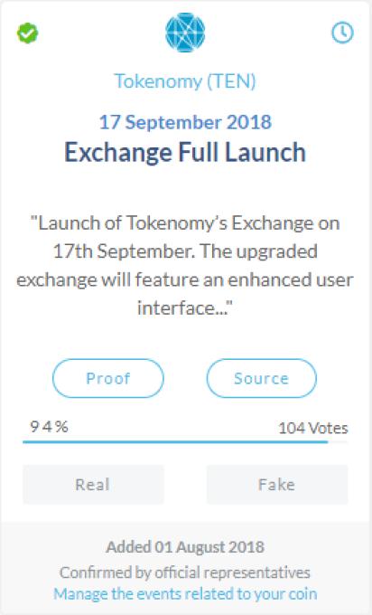 Tokenomy (TEN)