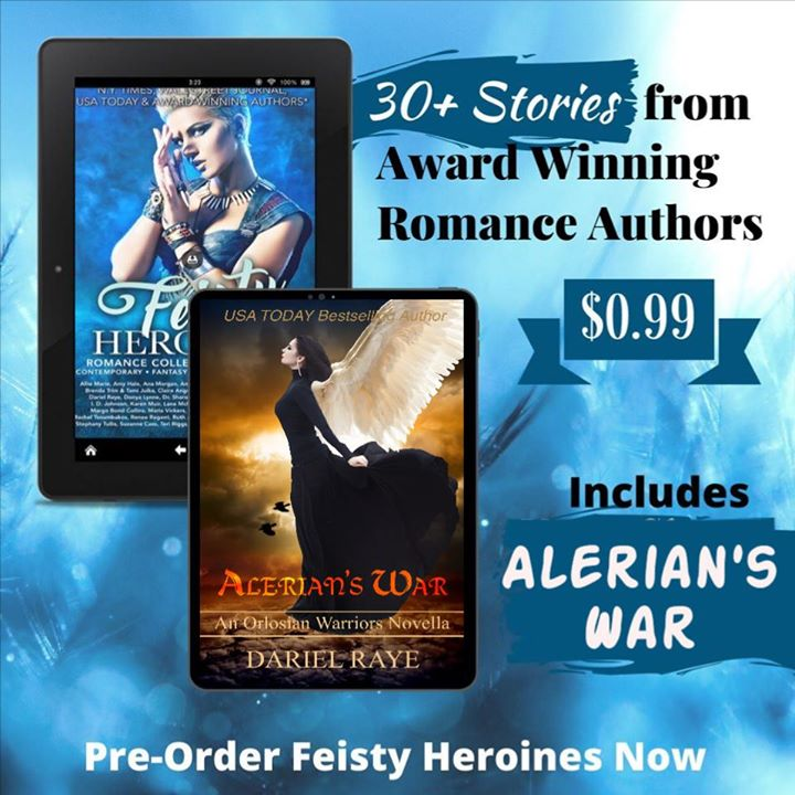 Excerpt from Alerian's War by Dariel Raye