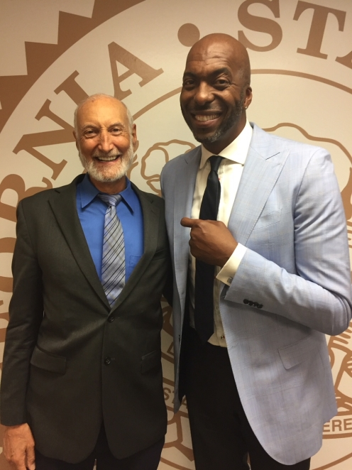 Dr. Klaper with John Salley