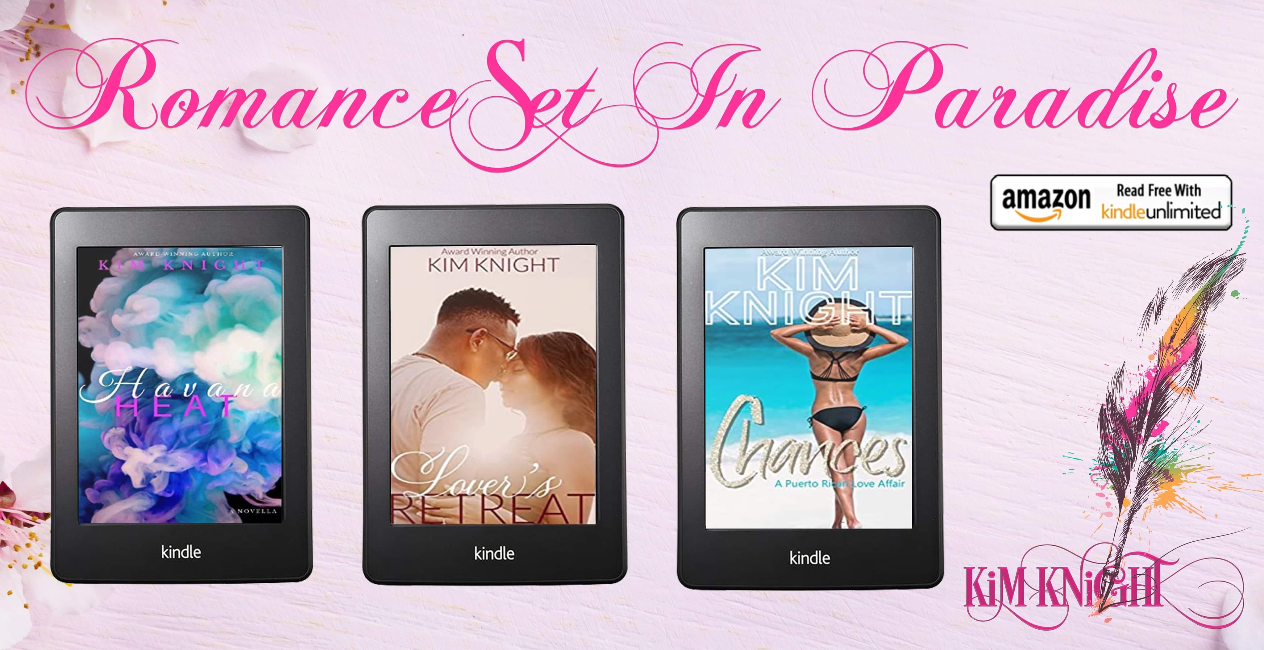 Romance Set in Paradise series banner