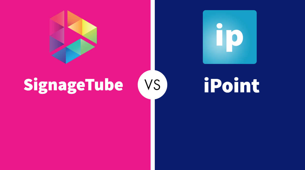 SignageTube vs iPoint